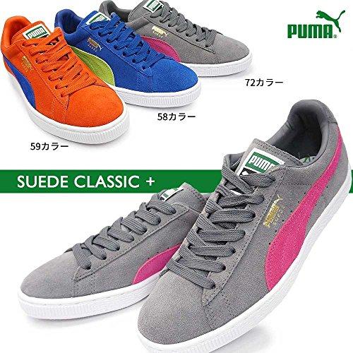 Puma Suede Classic, Sneaker Uomo Ponderosa Pine/Bianco