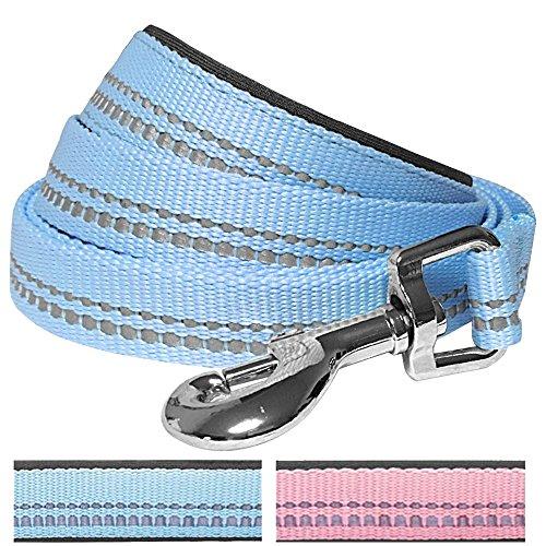blueberry-pet-3m-reflective-spring-pastel-color-dog-lead-with-soft-comfortable-handle-150-cm-x-2cm-b