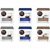 Nescafé Dolce Gusto Kit Degustazione di Caffè Espresso Barista, Espresso Ardenza ed Essenza di Moka, 6 Confezioni da 16 Capsu