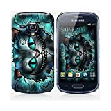 Coque Samsung Galaxy S3 mini de chez Skinkin - Design original : Mad cheshire cat par Mandie Manzano
