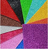 #5: PPM™ A4 Glitter Foam pack of 10 sheets 2mm thick assorted color.