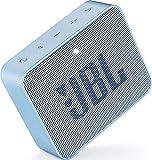 JBL GO 2 kleine Musikbox in Hellblau – Wasserfester, portabler Bluetooth-Lautsprecher mit Freisprechfunktion – Bis zu 5 Stunden Musikgenuss mit nur einer Akku-Ladung