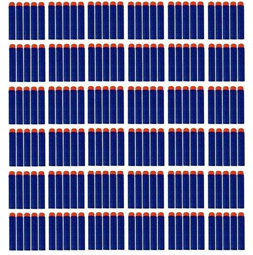 Preisvergleich Produktbild queenshiny 7.2cm Blue Foam 100 Stück Dart für Nerf N-Streik Elite Series Blasters Spielzeugpistole