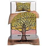 Janki Creation ), Baum des Lebens, Baumwolle, Bettwäsche, Bettdecke, Steppdecke, Bezug, Kissen,