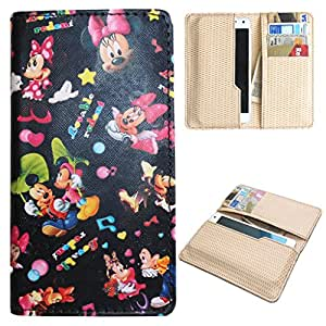 DooDa PU Leather Quality Wallet Case Cover With Card Slots Pouch For Lava A71