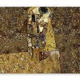 murando Papier peint intissé 350x256 cm Décoration Murale XXL Poster Tableaux Muraux Tapisserie Photo Trompe l'oeil Mur Gustav Klimt - Baiser l-A-0001-a-b
