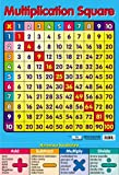 Multiplication Square - Educational Times Table Poster - 40x60cm