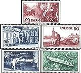Prophila Collection Svezia 913-917 (completa Edizione) 1975 Guardie, proteggere, aiuto (Francobolli per i collezionisti) Fuoco / polizia