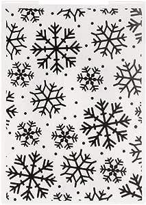 VIccoo Embossing Folder Frohe Weihnachten Kunststoff Pr/ägung Ordner Vorlage DIY Scrapbook Fotoalbum Karte