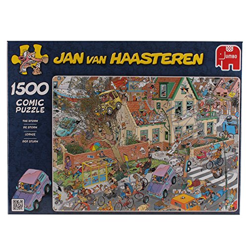 Jan Van Haasteren - The Storm Jigsaw Puzzle (1500 pieces)