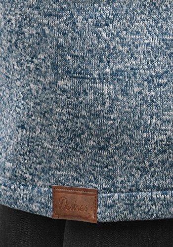 DESIRES Thora Damen Lange Fleecejacke Sweatjacke Jacke Mit Kapuze Und Daumenlöcher, Größe:S, Farbe:Insignia Blue (1991) - 5