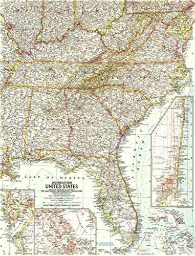 Reproduktion eines Poster Präsentation-USA-im Südosten (1958)-61x 81,3cm Poster Prints Online kaufen
