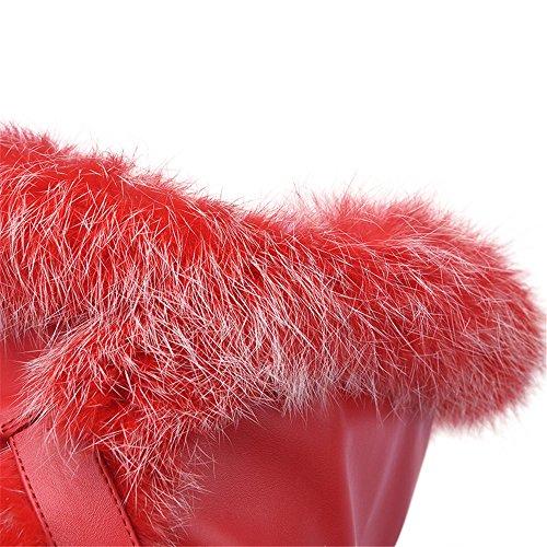 Nine SevenOver-the-knee Boots - Stivali donna Red