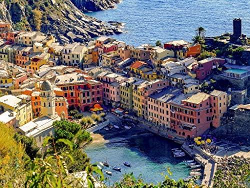 Lais Puzzle Vernazza, Cinque Terre 100 Pieces Pieces Pieces | La Qualité Des Produits  d0d593