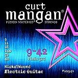 Curt Mangan Nickel Wound 9-42 jeu de cordes pour guitare électrique