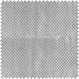 Tejido suave aterciopelado para tapizar (ideal para sillas, sofás, cortinas o cojines), diseño con efecto de lunares, color gris