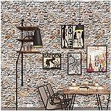 Bellelove,stickers muraux fille,stickers muraux,Brique de papier peint, 3D Wall Paper...