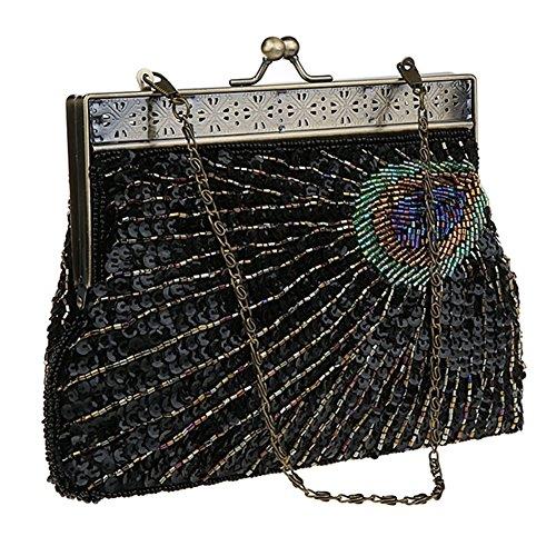 HT Evening Bag, Poschette giorno donna Green