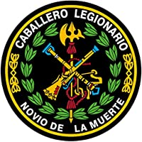 Artimagen Pegatina Círculo Logo Legión Color y Laurel ø 50 mm.