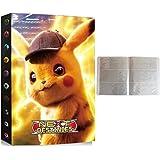 Verzamelalbum compatibel met Pokemon, album compatibel met Pokemon-kaarten, kaarthouder, map, boek, nietmachine, compatibel m