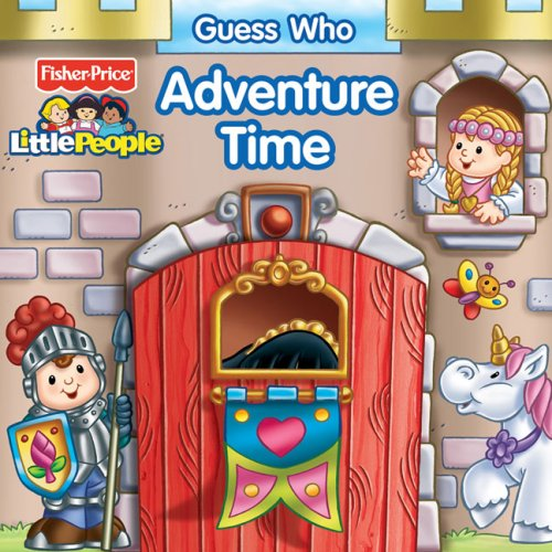 Guess Who Adventure Time (Fisher Price Little People) por Matt Mitter