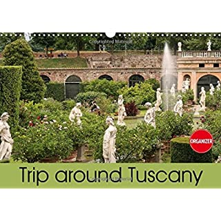 Trip to Tuscany (Wall Calendar 2018 DIN A3 Landscape): From Pisa and Lucca to Florence (Birthday calendar, 14 pages ) (Calvendo Places)