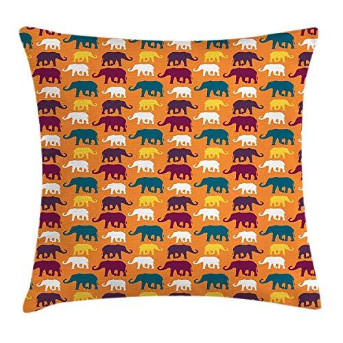 tyui7 Funda de Almohada Throw Pillow Funda de Almohada de poliéster Diseño...