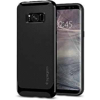 Spigen Cover Galaxy S8 Plus, Custodia [Neo Hybrid] Flessibile Protezione Interna e Rinforzato Duro respingente per Galaxy S8 Plus (2017) - Brillante Nero