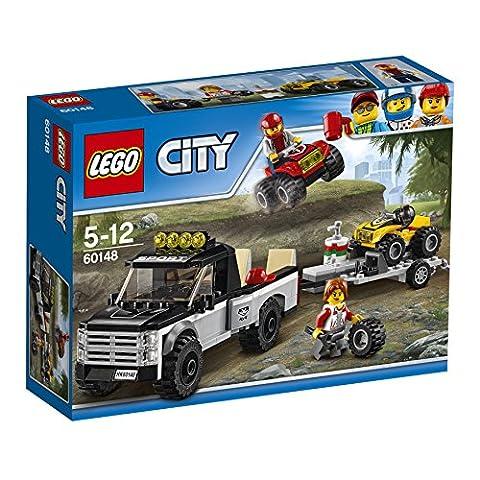 LEGO - 60148 - City - Jeu de construction - L'équipe de Course tout-terrain