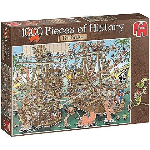 Jumbo Pezzi Di Storia - I Pirati Jigsaw Puzzle, 1000
