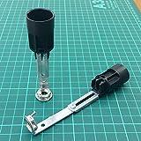 E14 Kerzenfassung 2 Stück 96 - 125mm verstellbar Kronleuchter Fassung Maria Theresia Lüster Leuchten EN/EC 250V ø 24mm