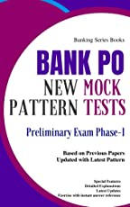 Bank PO Mock Tests (Based on Previous Papers) Probationary Officers Exam: Mocktime Publication
