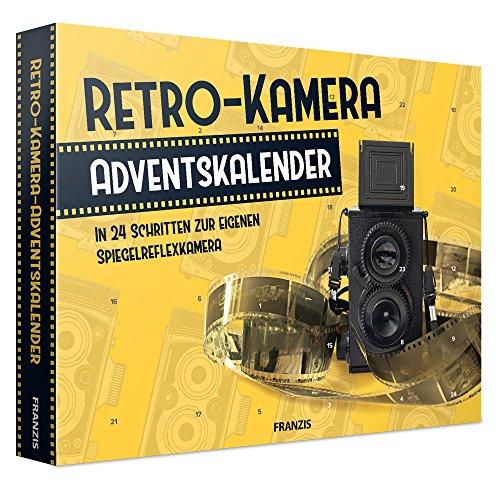 FRANZIS Retro-Kamera-Adventskalender 2018 | In 24 Schritten zur eigenen Spiegelreflexkamera | Ab 14 Jahren (Franzis Baubuch) (Modell-flugzeuge Radio Control)