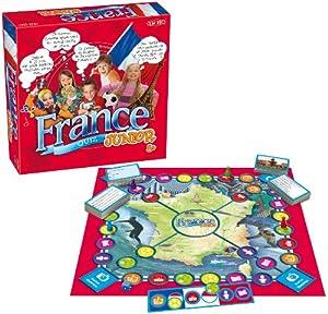 Tactic 01853 France Quiz Junior - Juego de preguntas y respuestas sobre Francia (contenido en francés) Importado de Francia