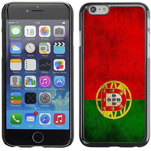 Graphic4You Vintage Uralt Flagge Von Kroatien Kroatisch Design Harte Hülle Case Tasche Schutzhülle für Apple iPhone 6 Plus / 6S Plus Portugal Portugiesisch