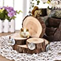 Awhao Wooden Shelf Perch Toy for Syrian Hamster Gerbil Rat Chinchillas Guinea Pig Squirrel Totoro Small Animal Platform Jumping Toy Parrot Parakeet Cage Toy (S) by awhao