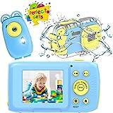 Cámara para Niños, Camara de Fotos para Niños HD 1080P Camara Fotos Infantil Camara Acuatica Niños de 10 Pies, Cámara Recarga