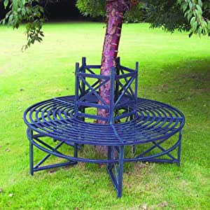 Circular tree bench garden outdoors Circular tree bench
