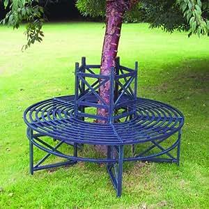 Circular Tree Bench Garden Outdoors: circular tree bench