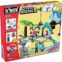 K'NEX Super Mario - Set de construcción Deluxe Playa, 161 piezas (Fábrica de Juguetes 41013)