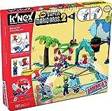 K'NEX Super Mario - Set de construcción Deluxe Playa, 161 piezas...