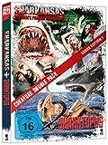 DVD Cover 'Creature Double Pack - SHARK Edition 1: Sharktopus & Sharkansas Women's Prison Massacre (2-Disc Set)