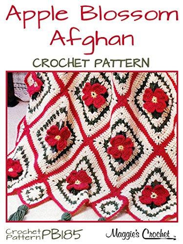 Crochet Pattern Apple Blossom Afghan PB185 (English Edition) Apple Blossom Pattern