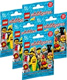 LEGO 71018 Minifigures Serie 17 - 5 Tüten