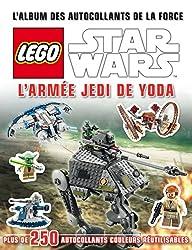 Lego Star Wars, l'album des autocollants de la force - tome 6 - Lego Star Wars, l'album des autocollants de la force n°6 L'Armée Jedi de Yoda