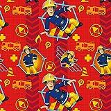 Jerseystoff Feuerwehrmann Sam