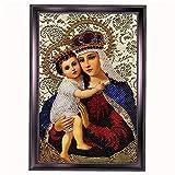 11ct 14ct Needlework religione DIY DMC set per ricamo a punto croce kit punto croce Home Deco, 11ct canvas size30x45cm