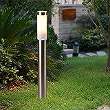 In acciaio inox da terra 80cm alto Custodia impermeabile IP44Lampada da esterno cortile lampada...