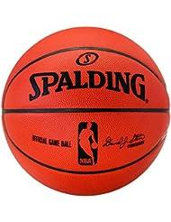 Spalding - Balón de baloncesto Oficial NBA, tamaño 7