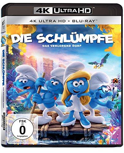 Die Schlümpfe: Das verlorene Dorf - Ultra HD Blu-ray [4k + Blu-ray Disc]